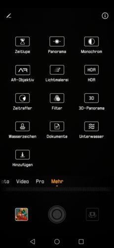 Mate 20 Pro Kamera