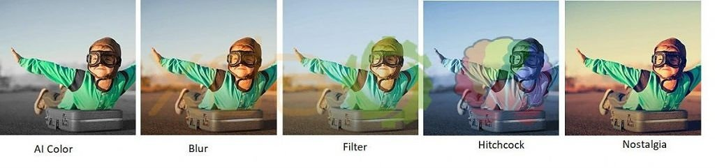 Huawei Mate 20 AI Video Effekte