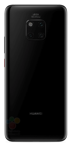 Huawei Mate 20 Pro Back Schwarz