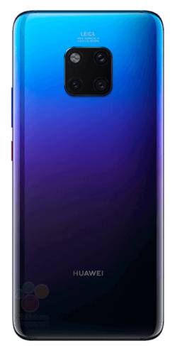 Huawei Mate 20 Pro Back Twilight
