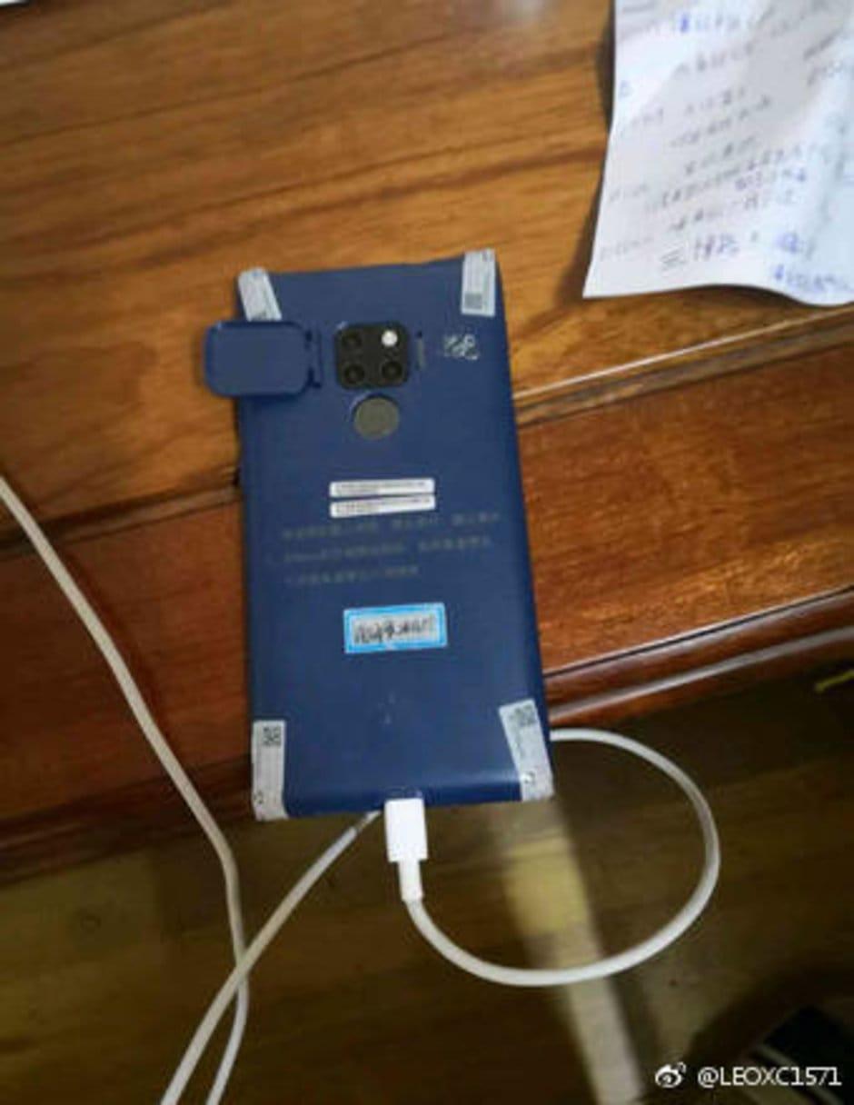 Huawei Mate 20 Pro Leak Rückseite Triple Kamera
