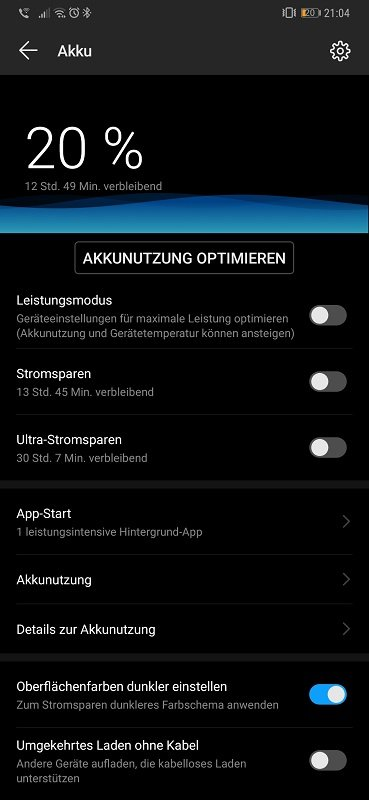 Huawei Mate 20 Pro Test Akkulaufzeit Heavy User