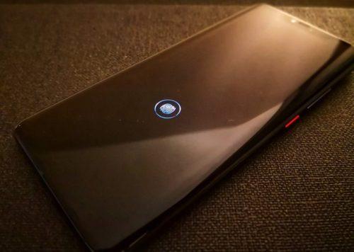 Huawei Mate 20 Pro Test Front Fingerprint