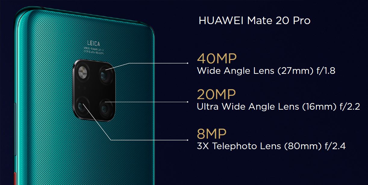 Huawei Mate 20 Pro Test Kamera Linsen