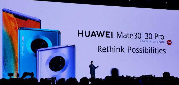 Huawei Mate 30 Header