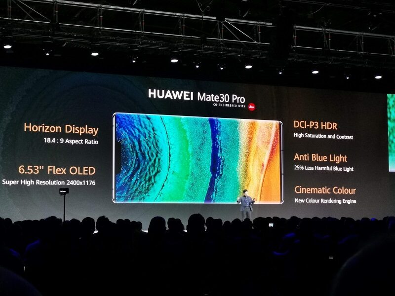 Huawei Mate 30 Pro Display