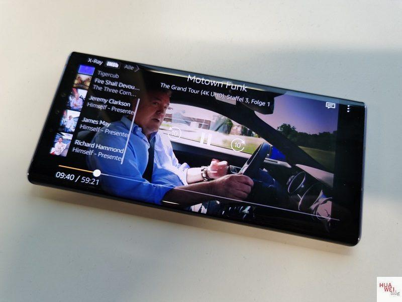 Huawei Mate 30 Pro Netflix Amazon Prime Video