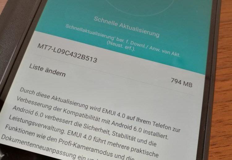 Huawei Mate 7 Marshmallow Beta Firmware