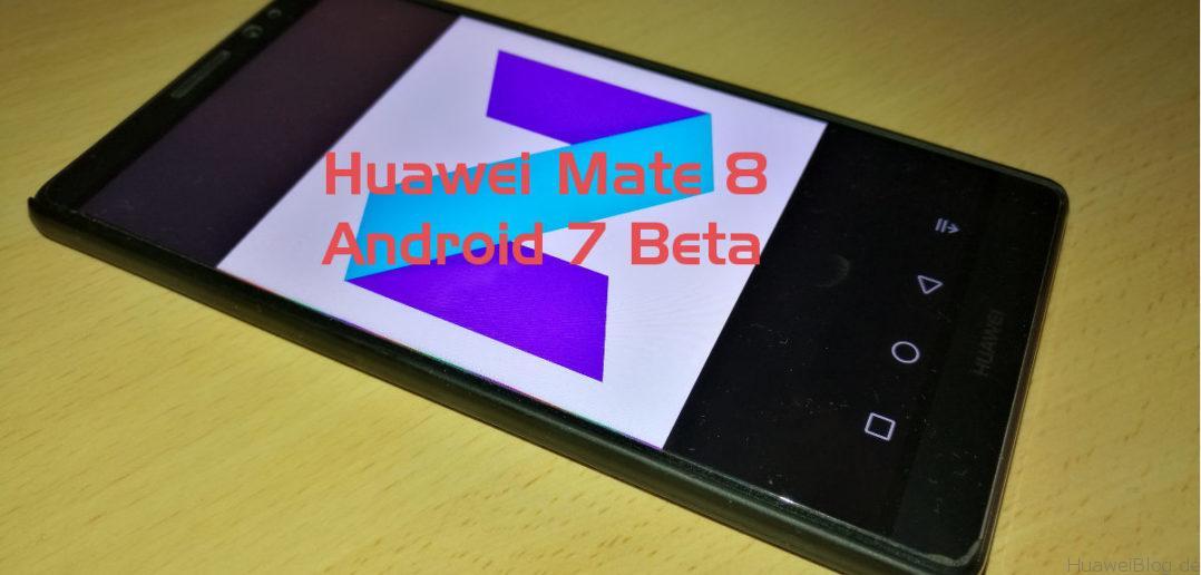 Das Huawei Mate 8
