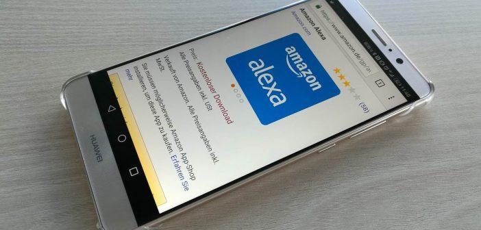 Huawei Mate 9 Alexa Amazon