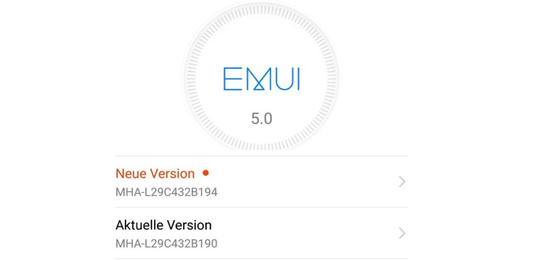 Huawei Mate 9 Update B194