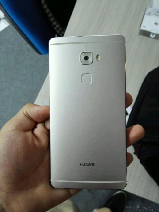 Huawei Mate S Back Leak