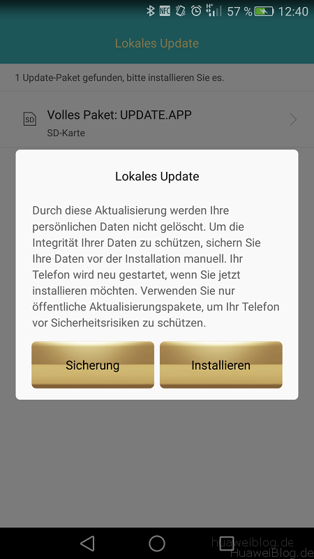 Huawei Mate S Firmware Update B114 nowipe