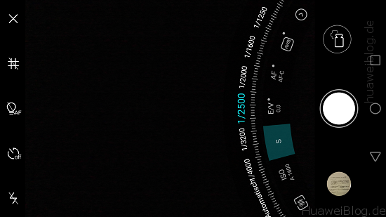 Huawei Mate S Kamera Pro Modus