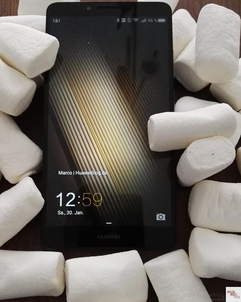 Huawei Mate S Marshmallow Update