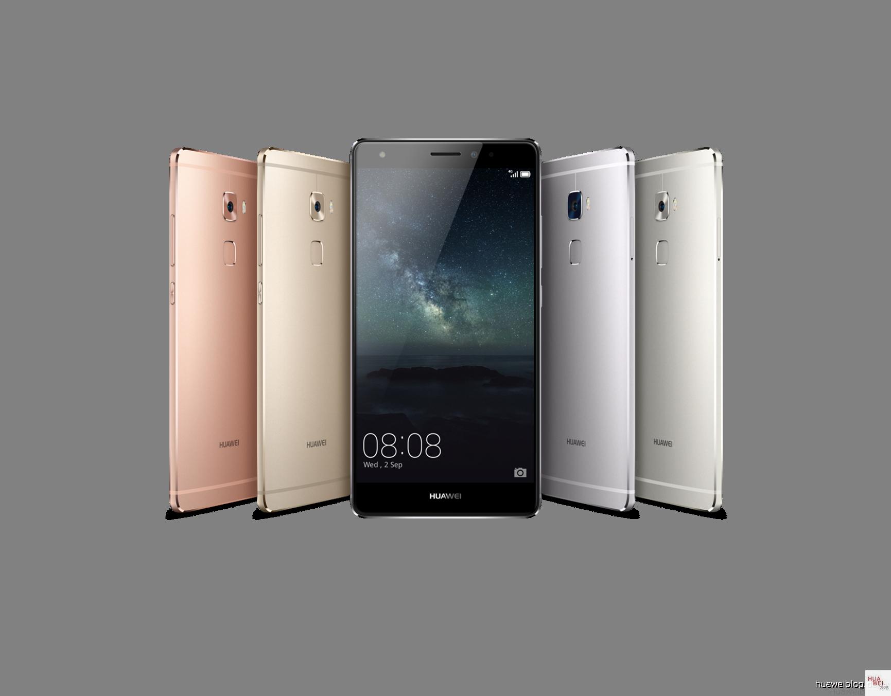 Huawei Mate S Farben