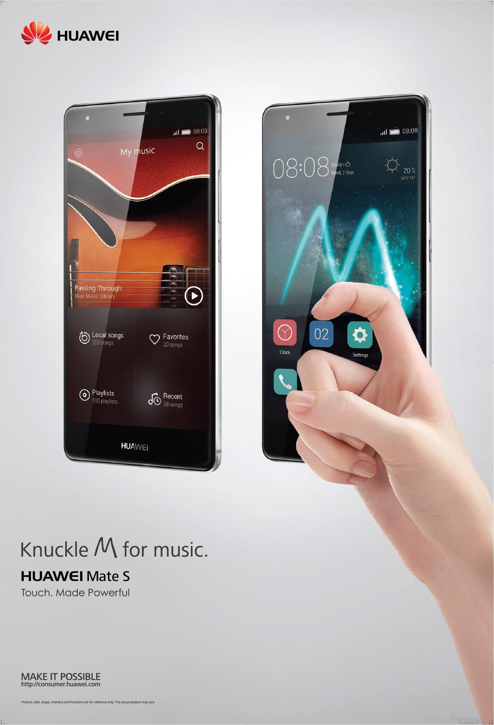 Huawei Mate S_Music