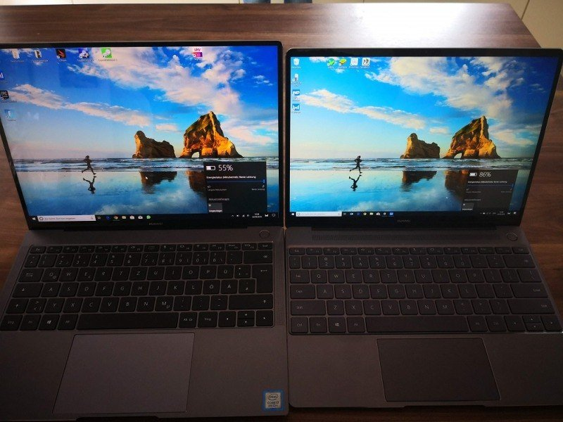 Huawei Matebook X Pro Test Display