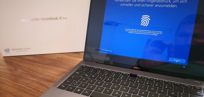 Huawei Matebook X Pro Test Header