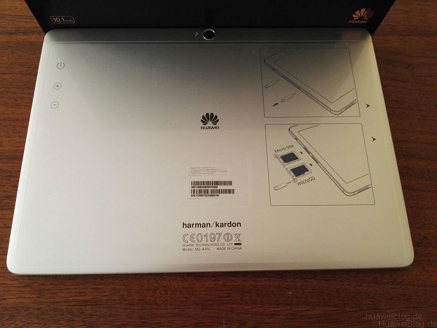 Huawei MediaPad M2 10.0 Kamera