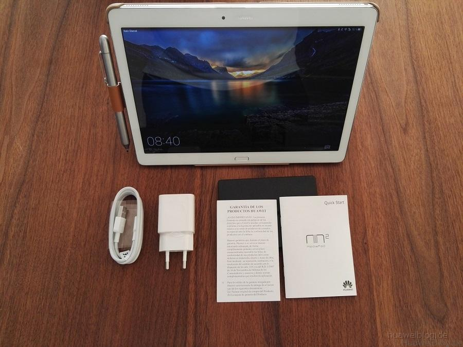 Huawei MediaPad M2 10.0 Unboxing
