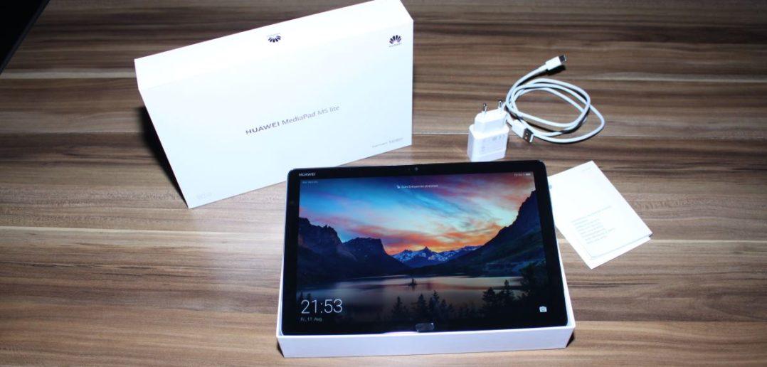 Huawei MediaPad M5 Lite Unboxing