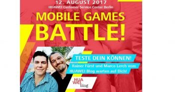 Huawei Event Mobile Games Battle