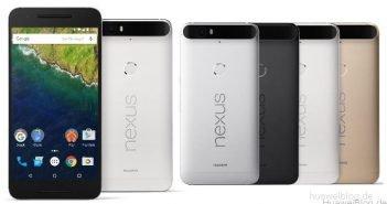 Huawei Nexus 6P Pressebild