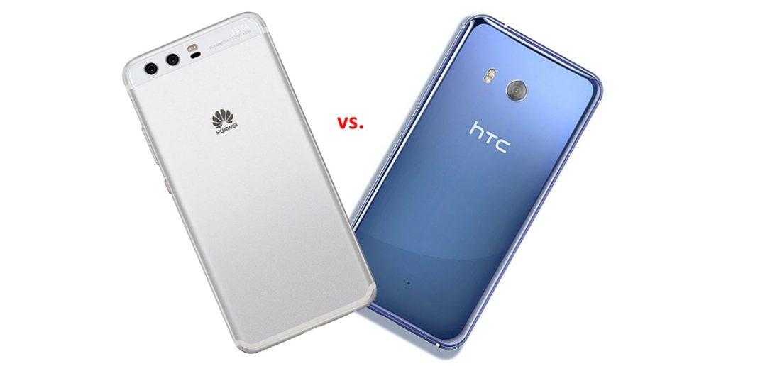 Huawei P10 Performance vs. HTC U11
