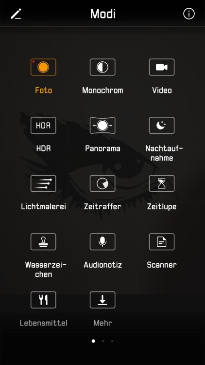 Huawei P10 Test Kamera Modus