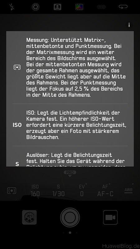 Huawei P10 Update B123 Kamera Optimierung