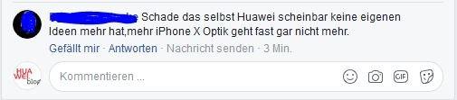 Huawei P20 Kommentar