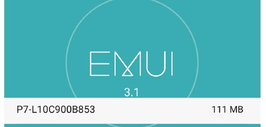 Huawei P7 Update B853