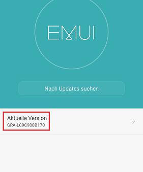 Huawei P8 Firmware Update B170