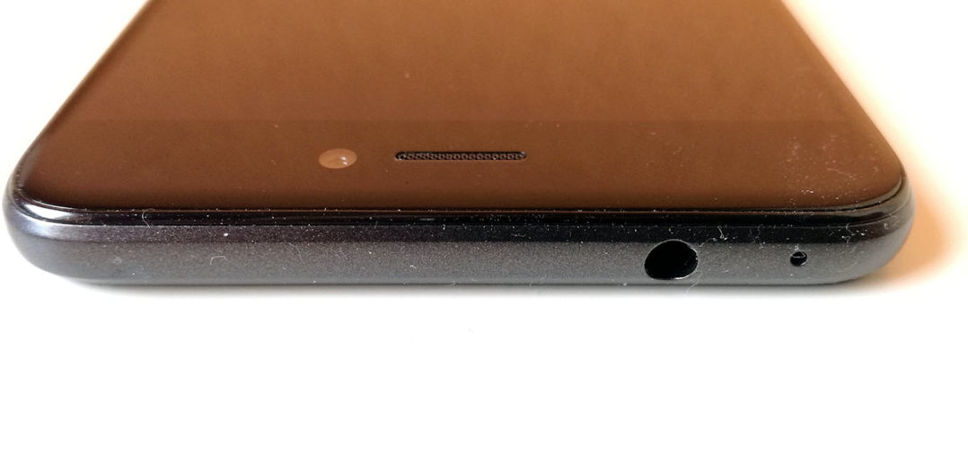 Huawei P8 Lite 2017 Oberseite