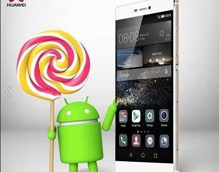 Huawei P8 Lollipop Update