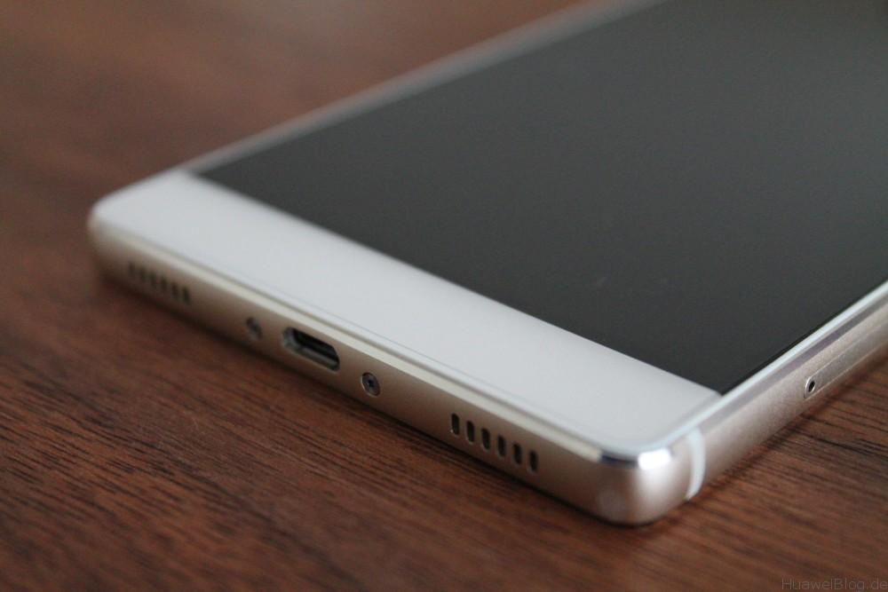Huawei P8 - Unterseite - Lautsprecher