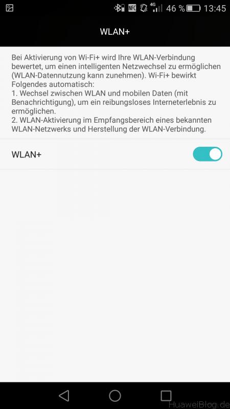 Huawei P8 - WLAN+