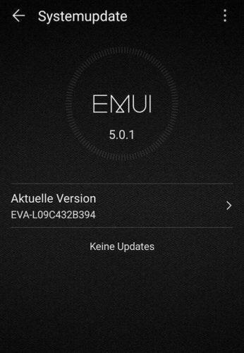 Huawei P9 B394 Update