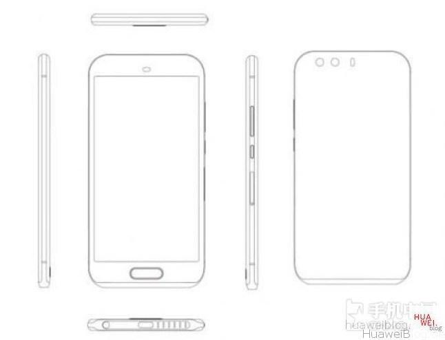 Huawei P9 Design Leak