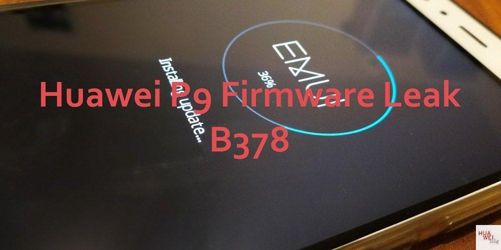 Huawei P9 Firmware EVA-L09C432B378
