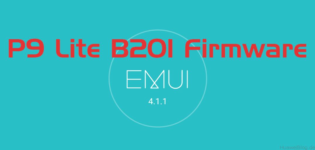 huawei p9 lite b201 firmware