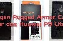 Huawei P9 Lite Spigen Ruged Armor Case Beitragstitelbild