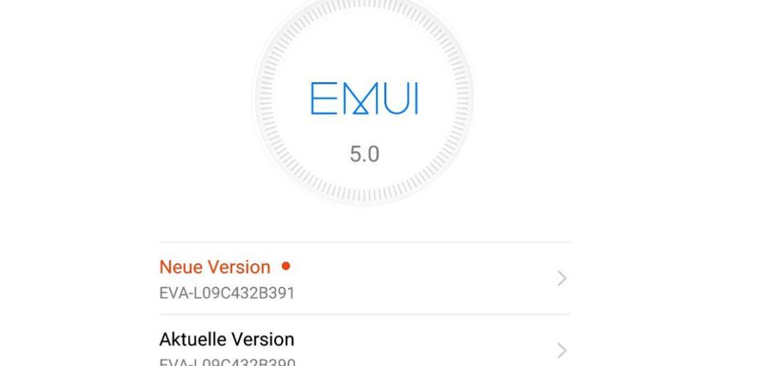 Huawei P9 Update B391