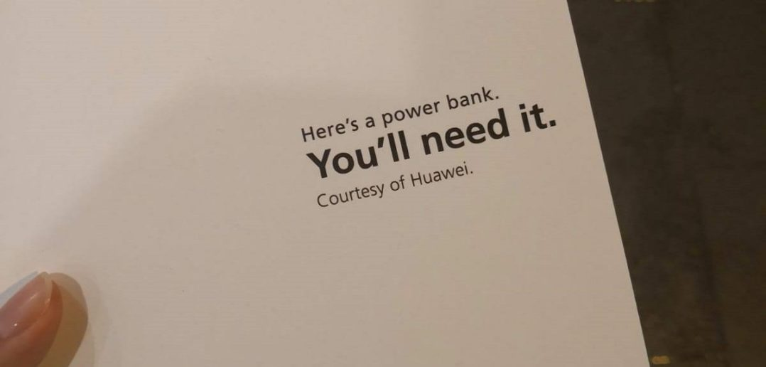 Huawei Powerbank Apple