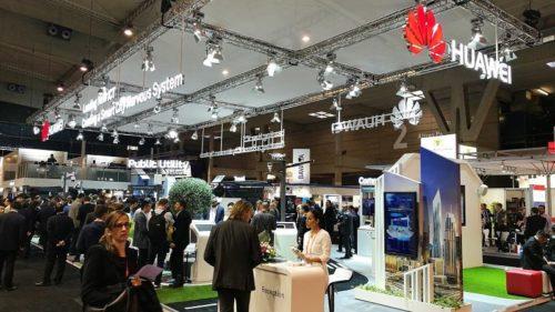 Huawei Messestand SCEWC17