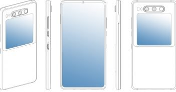 Huawei Smartphone Patent Display Header