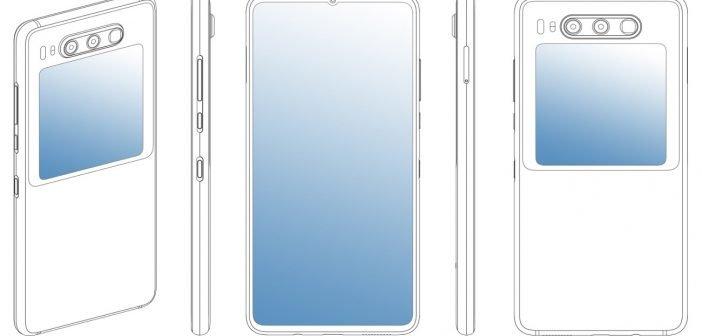 HUAWEI Patent zeigt Smartphone mit zweitem Display