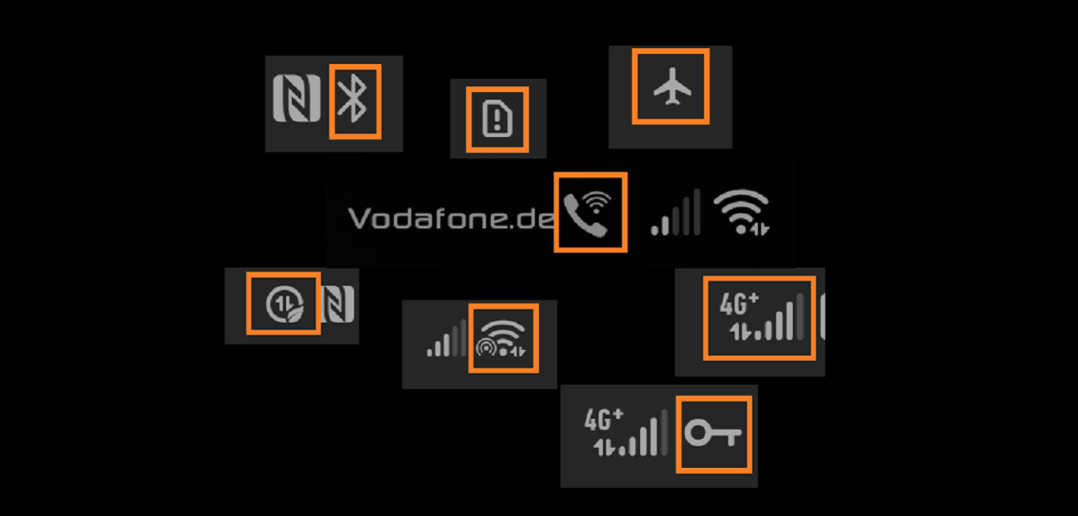 Huawei Symbole Header