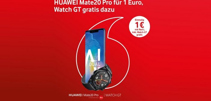 Huawei Vodafone Aktion Header
